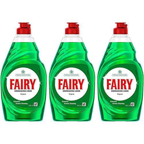 Fairy Original Washing Up Liquid 433g Pack of 3-980761