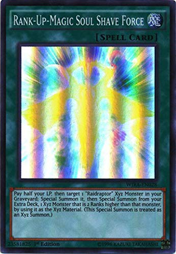 YU-GI-OH.–rank-up-magic Soul Shave Force–wira-en028–Super Rare–1st Edition (wira-en028)–Wing Raiders–1st Edition–Super Rare by Yu-Gi-Oh.
