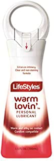 LifeStyles Warm Lovin' Liquid Personal Lubricant, 3.5 Ounces