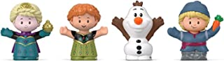 Fisher-Price Disney Frozen Elsa & Friends por Little People, figura 4 unidades