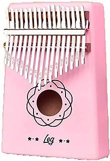 بيانو الإبهام WVWTWB ذو 17 مفتاح، تصميم فريد من نوعه، خشب أكاسيا الآلات الموسيقية بتصميم سهل الاستخدام، آلات موسيقية للمبت...