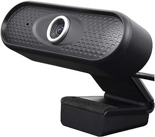 Podofo 1080p Webcam para Ordenador cámara Web de Video Llamada Full HD 30 fps cámara de Video USB Pro de Enfoque automático con micrófono Incorporado para PC computadora portátil Tableta Mac
