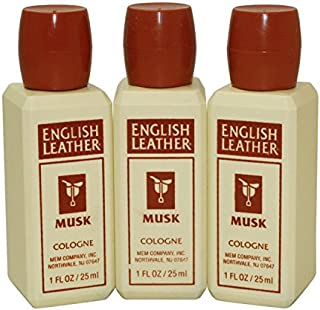 ENGLISH LEATHER MUSK by Dana COLOGNE 1 OZ (PLASTIC TRAVEL SIZE) for Men