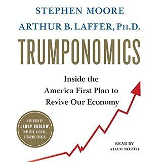 Trumponomics audiobook cover art
