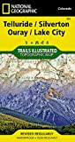Telluride, Silverton, Ouray, Lake City (National Geographic Trails Illustrated Map (141))