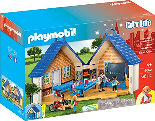 PLAYMOBIL Take Along School House Playset