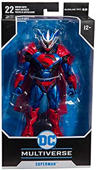 collector Multiverse- DC Armored- 7 Inch Superman Unchained W1 with Rotating posable Wings!