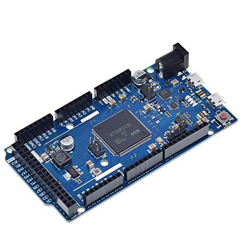un known DUE R3 Board SAM3X8E 32-bit ARM Cortex-M3 / Mega2560 R3 Duemilanove 2013 For Arduino Due Board With Cable Accessory Compatible Replacement