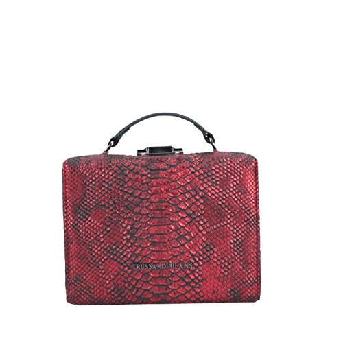 TRUSSARDI JEANS Bolso Badia box bag red 75B501