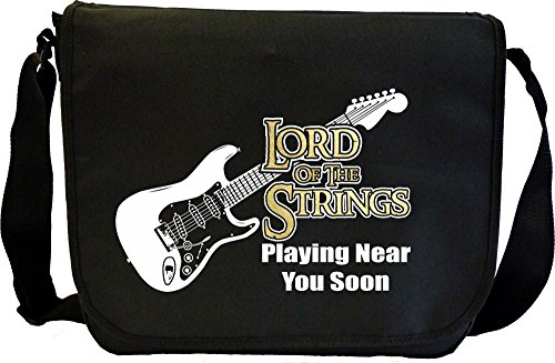 MusicaliTee Electric Guitar Lord Strings Soon - Sheet Music & Accessory...