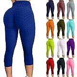 VESNIBA Leggings de gimnasio para mujer, cintura alta, pantalones de yoga, pantalones gruesos, control de barriga, entrenamiento, correr, deportes, sexy, medias