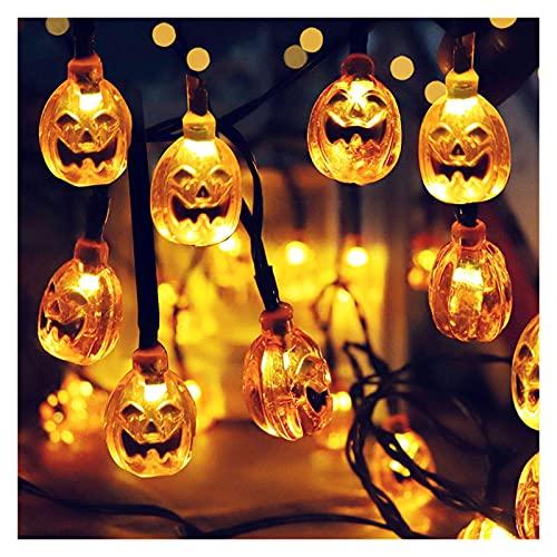 pumpkin lantern Halloween Decoration String Lights Lantern Home Outdoor...