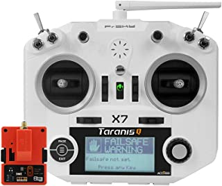 FrSky Taranis Q X7 Access 2.4GHz 24CH Mode2 Transmitter with R9M 2019 Long Range Module - White