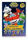 Super Wings: Superstarker Sticker- und Malspaß: über 500 Sticker