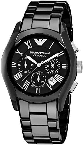 [EMPORIO ARMANI(エンポリオ アルマーニ)] セラミカ メンズ 腕時計 ブラック AR1400 [並行輸入品]