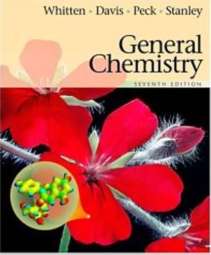 General Chemistry (7th Edition) Text Only by Whitten Kenneth W. (2004-05-03)