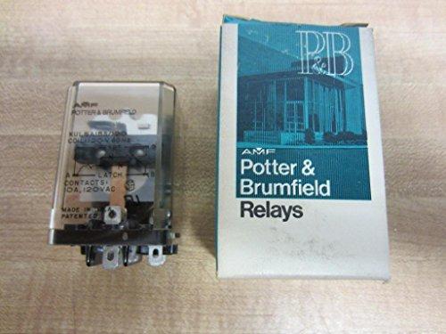 Power Relay, SPDT, 120 VAC, 10 A, KUL Series, Socket, Latching Single Coil