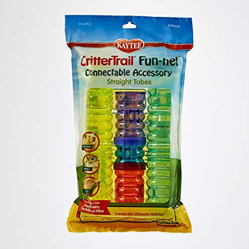 Kaytee CritterTrail Fun-nels Tubes Accessories Value Pack