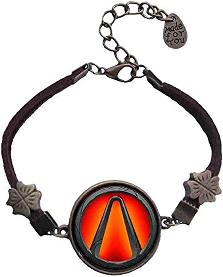 Handmade Fashion Jewelry Symbol Borderlands Vault Bracelet Pendant Cosplay