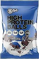 BSC High プロテイン ボール 70g x1袋 (クッキー&クリーム) [海外直送品]
