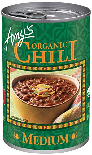 Amy's Organic Medium Chili, Vegan, 14.7 oz.