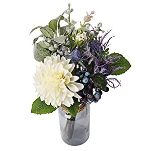 Lameeeei Artificial Flowers with Vase