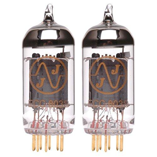 Pair of JJ ECC803s/Hi-Performance 12AX7 Gold Pin Preamp Vacuum Tube