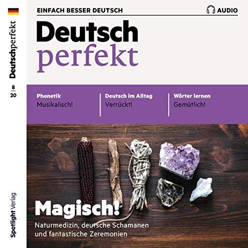 Deutsch perfekt Audio 8/2020 Titelbild