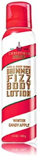 Bath & Body Works Shimmer Fizz Lotion Winter Candy Apple