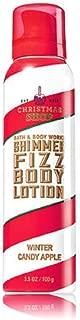 Bath & Body Works Shimmer Fizz Lotion Winter Candy Apple