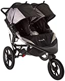 Baby Jogger Summit X3 Double Jogging Stroller - 2016 | Air-Filled Rubber Tires | All-Wheel...