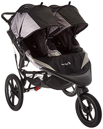 Product Image of the Baby Jogger Summit X3 Double Jogging Stroller - 2016 | Air-Filled Rubber Tires |...