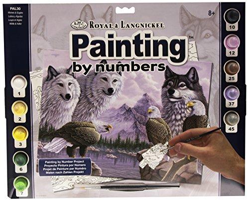 Royal & Langnickel PAL30 Peinture au numéro 11\