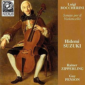 Boccherini: Sonate per il violoncello