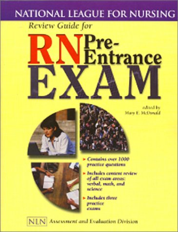 Review Guide for RN Pre-Entrance Exam: National League for Nursing (National League for Nursing Series)
