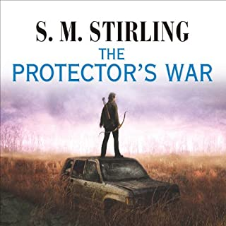 The Protector's War audiobook cover art