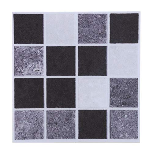 Credible Pegatinas de Transferencia, 18 Piezas de Pegatinas de Transferencia de Azulejos de Mosaico, baño, Cocina, Bricolaje, hogar (10 cm * 10 cm)(MTS008)