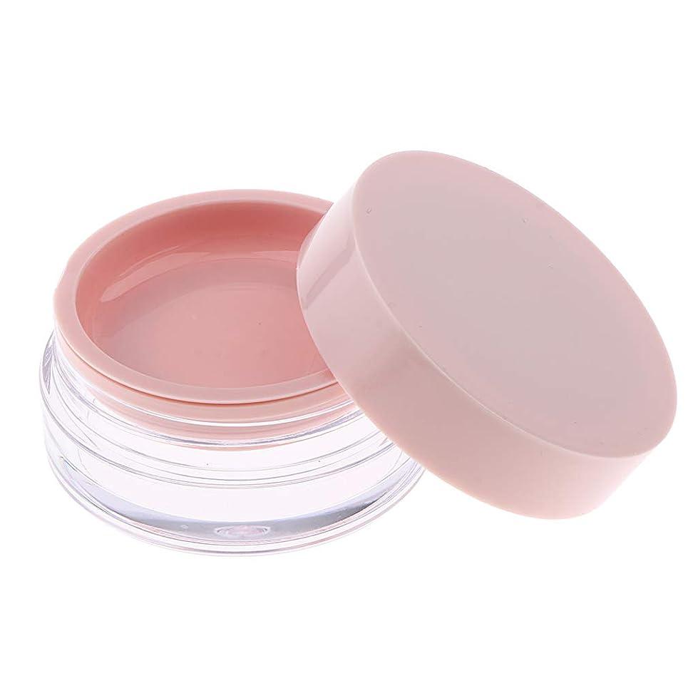 取るに足らない郵便屋さんナインへP Prettyia 化粧パウダーケース 化粧鏡付 コスメ用詰替え容器 携帯用 2色選べ - ピンク