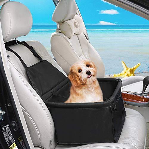 Outlet TISSIMO® transporttas zwart voor honden en katten auto box en sprei huisdiertas 40x320x25