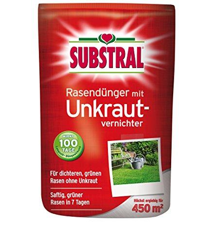 SCOTTS Substral® Rasendünger mit Unkrautvernichter, 9 kg