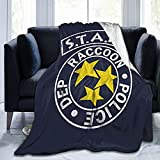 Stars Resident Evil Blanket Ultra-Soft Micro Fleece Never Broke Again Decorations Flannel Throw Blankets Warm Fuzzy Plush for Bed Couch Living Room Bedroom Office 50'X40'