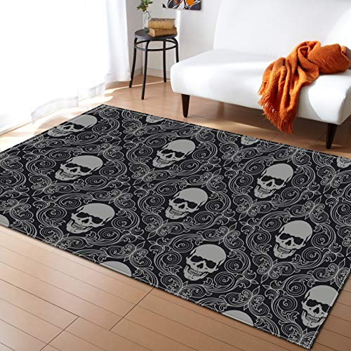 SSHHJ Thick Non-Slip Carpet Suitable For Floor Mats For Hotels, Entrances And Toilets Can Wash Christmas Halloween Carpet