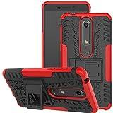Jhxtech Nokia 6.1 Case, Nokia 6 2018 Case, [Kickstand]