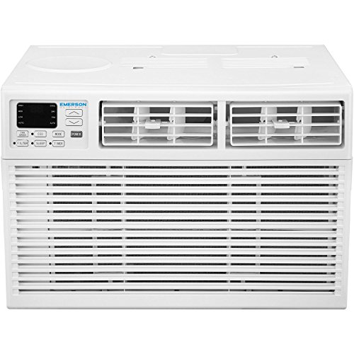 Emerson Quiet Kool 8,000 BTU 115V Window Air Conditioner with Remote Control, EARC8RE1, 8000 Standard, White
