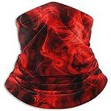GWrix Stirnbänder,Schlauchtuch,Winter Nackenwärmer,Gesichtsmaske,Kopftuch,Red Fire...