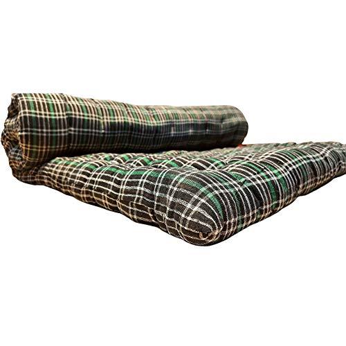 ANURADHA Multi-Color Soft Cotton Mattress, Gadda for Single Bed(3x6) FT (72X36) INCH one Sleeping Capacity (3X6 Mattress)