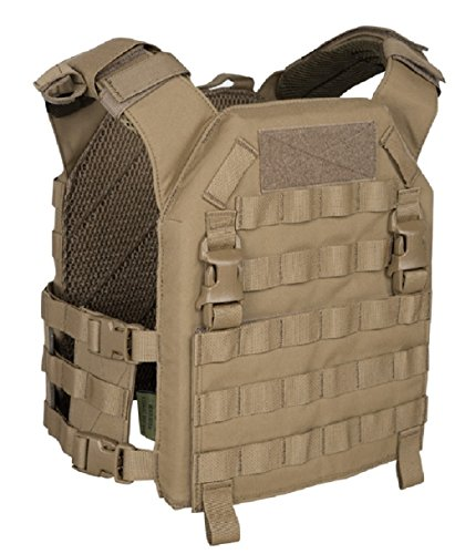 Warrior Recon Plate Carrier Coyote, M, Coyote