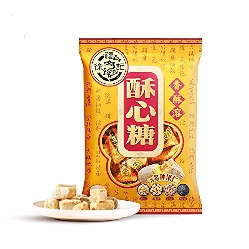 XuFuJi Crispy Candy Multi-flavored 318g Candies Snacks 徐福记 酥心糖 多口味318g 糖果 零食