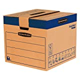 BANKERS BOX SmoothMove Heavy Duty Double Wall Cardboard Moving and Storage Boxes