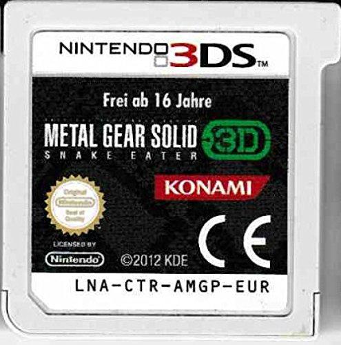 Konami Metal Gear Solid 3D Snake Eater - Juego